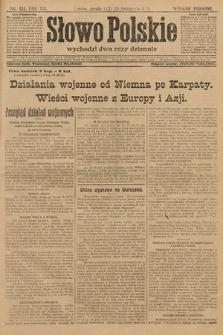 Słowo Polskie (wydanie poranne). 1914, nr531