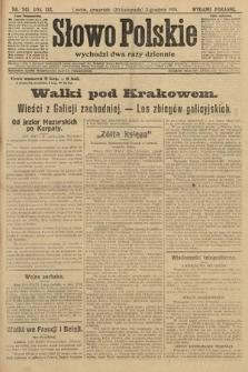 Słowo Polskie (wydanie poranne). 1914, nr545