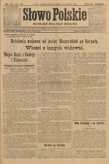 Słowo Polskie (wydanie poranne). 1914, nr549