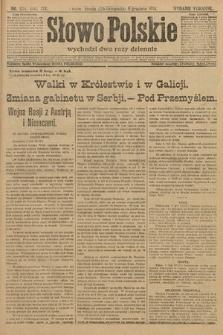 Słowo Polskie (wydanie poranne). 1914, nr554