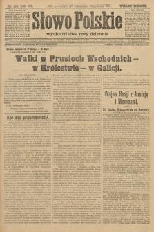 Słowo Polskie (wydanie poranne). 1914, nr556