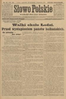 Słowo Polskie (wydanie popołudniowe). 1914, nr557
