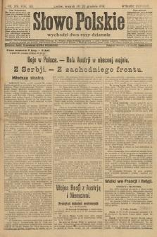 Słowo Polskie (wydanie poranne). 1914, nr576