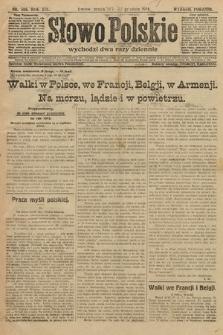 Słowo Polskie (wydanie poranne). 1914, nr586