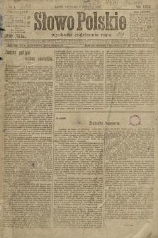 Słowo Polskie. 1922, nr1