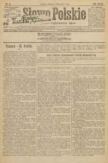 Słowo Polskie. 1922, nr5