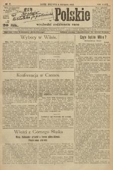 Słowo Polskie. 1922, nr7