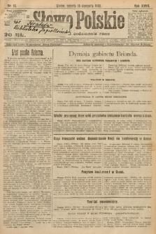 Słowo Polskie. 1922, nr12