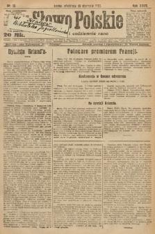 Słowo Polskie. 1922, nr13