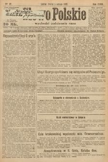 Słowo Polskie. 1922, nr27