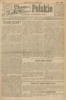 Słowo Polskie. 1922, nr31