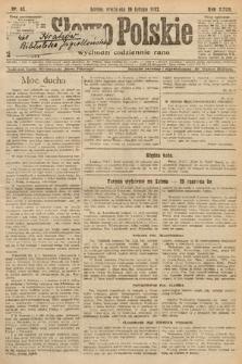 Słowo Polskie. 1922, nr43