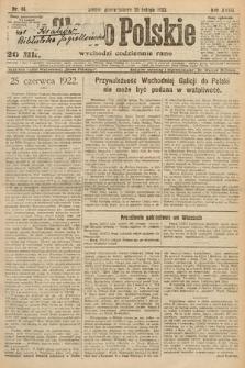 Słowo Polskie. 1922, nr44