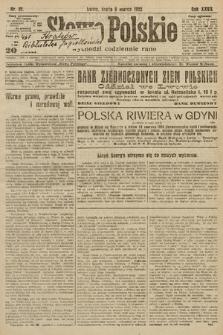 Słowo Polskie. 1922, nr57