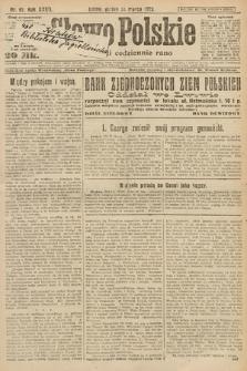 Słowo Polskie. 1922, nr67
