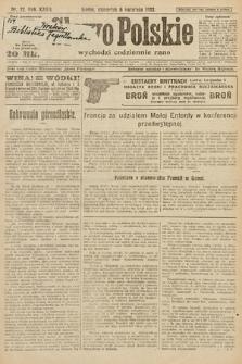Słowo Polskie. 1922, nr72