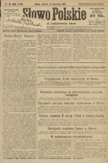 Słowo Polskie. 1922, nr80