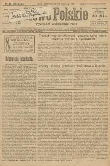 Słowo Polskie. 1922, nr87