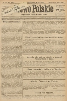 Słowo Polskie. 1922, nr111