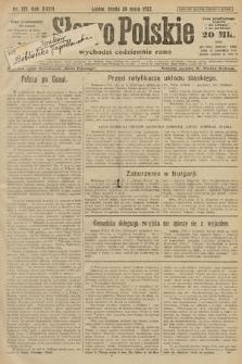 Słowo Polskie. 1922, nr112