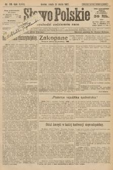 Słowo Polskie. 1922, nr118