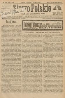 Słowo Polskie. 1922, nr119