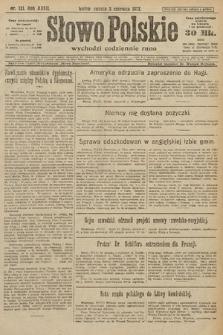 Słowo Polskie. 1922, nr121