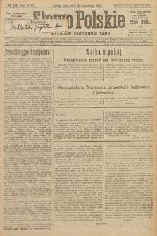 Słowo Polskie. 1922, nr136