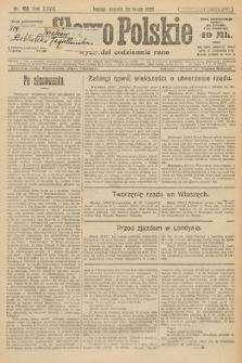 Słowo Polskie. 1922, nr168
