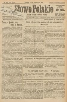 Słowo Polskie. 1922, nr173