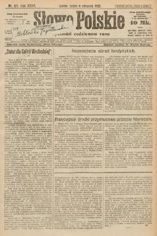 Słowo Polskie. 1922, nr177