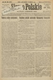 Słowo Polskie. 1922, nr182