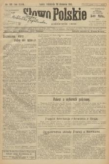 Słowo Polskie. 1922, nr187