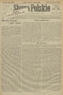 Słowo Polskie. 1922, nr189