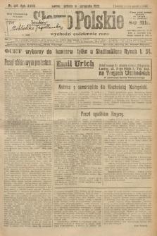 Słowo Polskie. 1922, nr204
