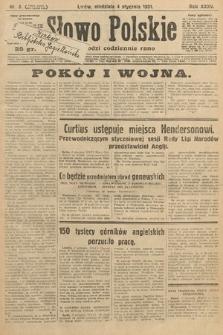 Słowo Polskie. 1931, nr3