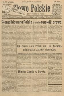 Słowo Polskie. 1931, nr13