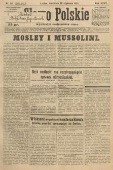 Słowo Polskie. 1931, nr24