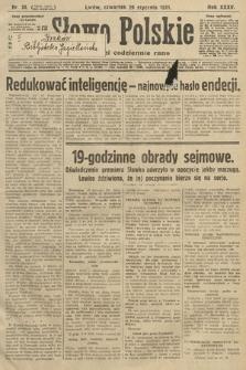 Słowo Polskie. 1931, nr28