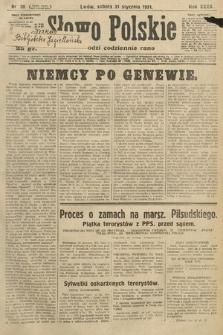 Słowo Polskie. 1931, nr30