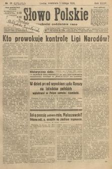 Słowo Polskie. 1931, nr31