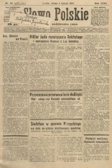 Słowo Polskie. 1931, nr34