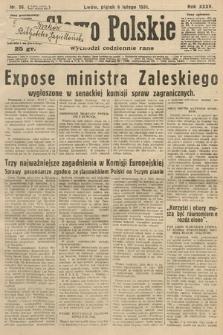 Słowo Polskie. 1931, nr36