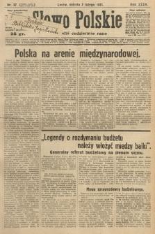 Słowo Polskie. 1931, nr37