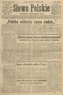 Słowo Polskie. 1931, nr38