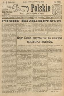 Słowo Polskie. 1931, nr45