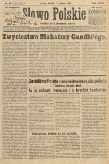 Słowo Polskie. 1931, nr69