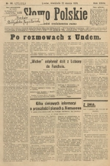 Słowo Polskie. 1931, nr80