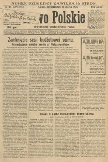 Słowo Polskie. 1931, nr81