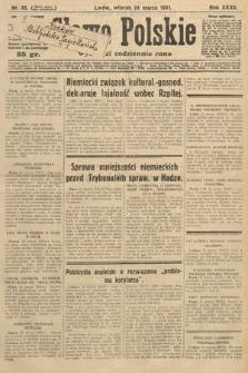 Słowo Polskie. 1931, nr82